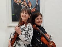 Elizabeth Szilagyi y Cecilia Nicrosi
